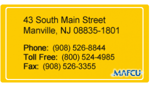 Manville Area FCU Address